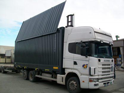 Container intermodale per rifiuti