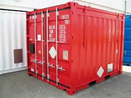 10ft - 20ft - 40ft Hard Top Containers
