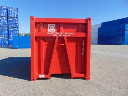 face avant unité intermodales pour les déchets